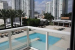 The pool at 50 Biscayne