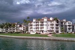 Fisher island from the water 2