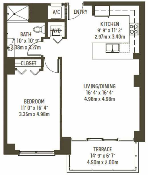 1 Bedroom Apartments Near Usf: Midblock Lofts, Live/Work, Apartments For Sale In Midtown