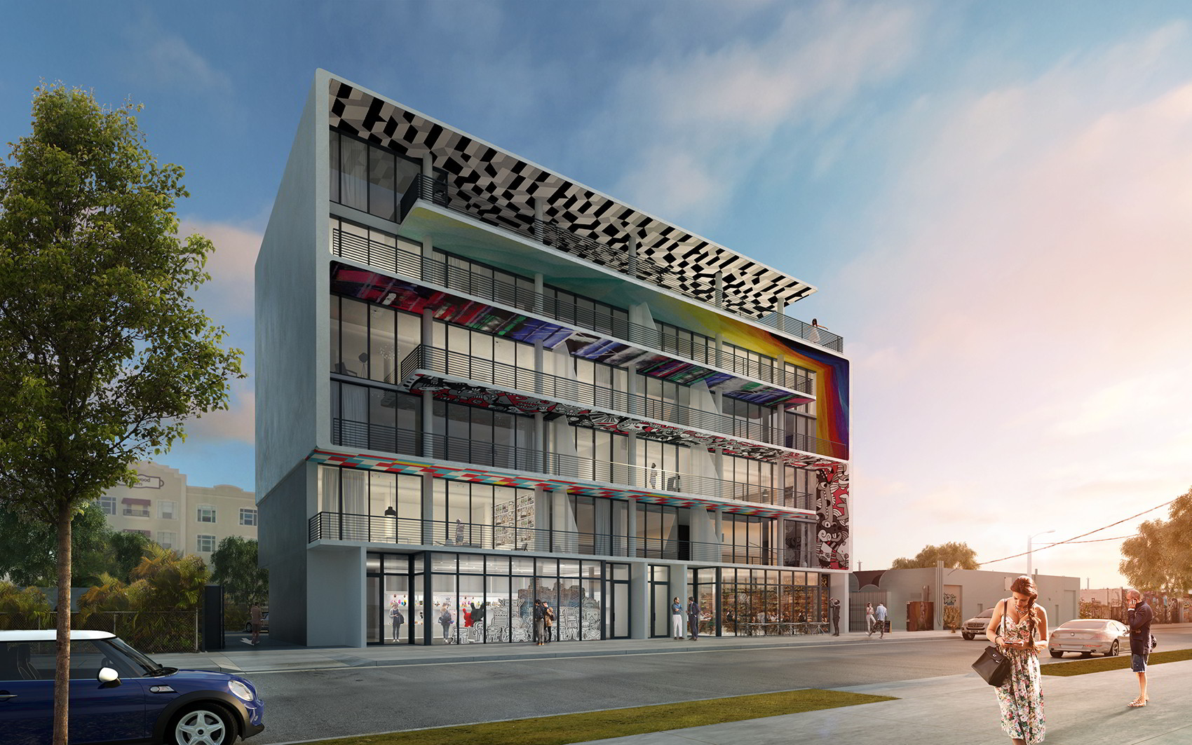 250 Wynwood is the first new condominium project in Wynwood Cafe' District since 2005